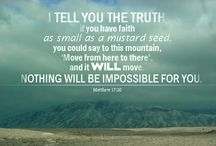 Faith / Keep the Faith Friday: Now faith is the substance of things hoped for, the evidence of things not seen.- Hebrews 11:1 (The Holy Bible KJV)