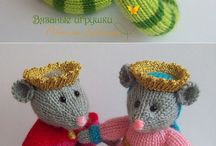 Knitted Toy Animals