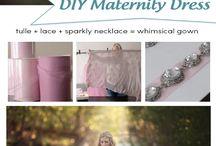 DIY suknie ciążowe