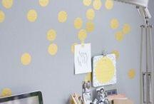 Decorações, Ideias / Ideias para uma casa mais colorida \o/