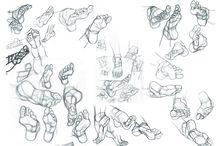 Ayak çizimi