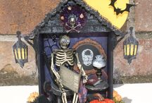Halloween projects / This board about Sa Crafters Halloween projects