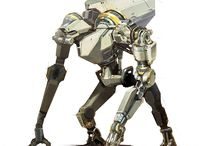 Mecha and Robots / Mecha, Robot, Machine and all of the related stuff for reference