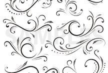 Scroll pattern design