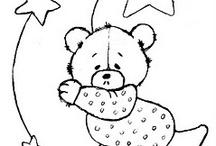 Desenho de ursos