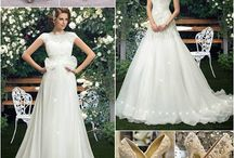 Wedding Outfits / Wedding Outfits complete outfits dresses Wedding rings matching earrings and special wedding shoes here
