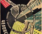 Graphic design Russian avantgarde Rodchenk / Stenberg brothers