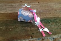 Crafts and fun / This is about a handmade gift box! You can put some chocolates in it!
