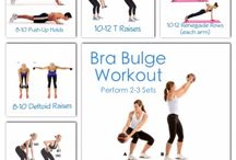 Banish Bra Bulge / Exercises that tighten the muscles of the back and armpit area to eliminate the bra bulge that many of us experience.