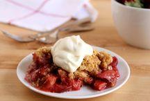 rhubarb strawberry pies etc