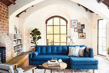 Blue lounger