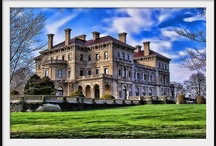 America's Castles / GuildedAge and beyond, classic homes of the wealthy. / by Sharon Cumberland