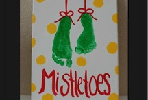 1st Christmas  Crafts  / Christmas crafts for Connor