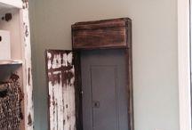 stressed door