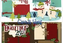 Christmas scrapbooking / by Kandi Jamerman
