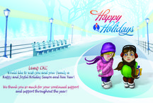Happy Holidays And Seasons Greetings from LAMP CHC!