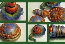 Polymer Clay Coloring