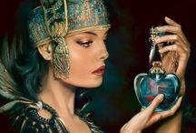 Perfume Bottles / , / by Susie Hargroves-Lovett