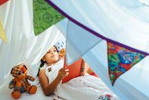 Infância / Nossos lençóis num ensaio sobre a verdadeira infância. Aquela que fica guardada na memória do coração.