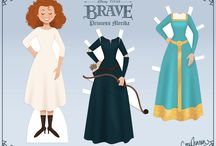 Disney Fashion.....Brave / Merida inspired fashion from toddler to Princess  These pins are not exclusively mine, so feel free to pin as many as you want without fear of being blocked!