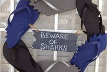 Sharks stuff / by Heather Scott