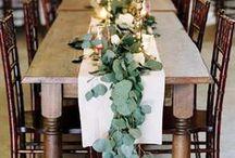 *LT wedding breakfast flowers