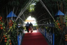 Entrance Decor / Captivating the eyes of everyone who enters the blessed venue- That is the Goal :) / by Aaishvaryam Madras