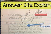 HS ELA: Writing Interactives