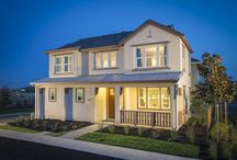 Hudson at Avenue One - San Jose, CA / Hudson at Avenue One offers single family court homes with up to four bedrooms and two and a half baths. Sizes range from 1,635 to 2,375 square feet and each two-story home has an alley accessible two-bay garage.