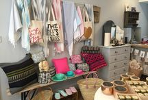 Georgie & Flo / The other string to my bow. Wonderful fun gift shop in Exeter.