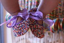 sprinkle shoes / The sweetest shoe on the market. One of a kind sprinkle shoes. Perfect for baby shower gifts, special occasions and photo sessions