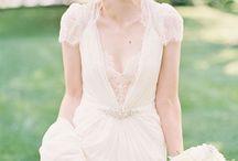 Wedding / Wedding dress and hair inspiration