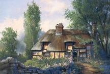 Art: Charming Cottages / by Vonnie Davis