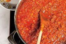 sauce à spagh