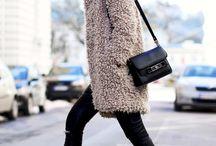 Fur coat outfit