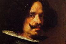 Diego Velazquez / Diego Rodríguez de Silva y Velázquez, semplicemente noto come Diego Velázquez (pronuncia IPA: [ˈdjeɣo roˈðriɣeθ ðe ˈsilβa i beˈlaθkeθ]) (Siviglia, 6 giugno 1599 – Madrid, 6 agosto 1660) pittore spagnolo, l'artista più importante tra quelli presenti alla corte di Re Filippo IV di Spagna.