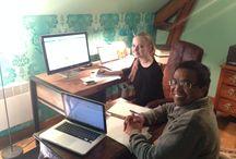 """3 jours de formation """"chambre d'hotes et marketing"""" pour un projet à Madgascar / Souvenirs de 2 jours de formation autour du projet d'Anselme notre client qui ouvre une maison d'hôtes haut-de-gamme non pas en France mais à Madagascar !"""