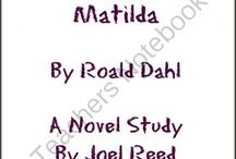 Roald Dahl Book Related Activities / Study Ideas | Activities | Homeschooling | Educational | Roald Dahl | Printables | Learning | Unit Studies | Crafts | Books | Novel Study
