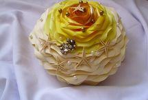 Buchete mireasă / Buchete handmade din hartie, materiale textile sau flori artificiale.