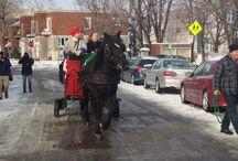 Conférence de presse à la Maison Saint-Gabriel, musée et site historique / La conférence de presse de la Maison Saint-Gabriel lançait le programme de festivités pour souligner le 350e anniversaire de l'arrivée des premiers chevaux en Nouvelle-France!   (19 janvier 2015)