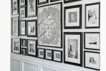 gallery wall / by Savannah Patrone - hairbypatrone.com
