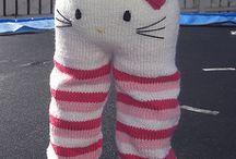 knit pants...little kitty