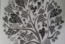 Zentangle/zendoodle