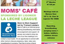 Mom's Cafe: La Leche League of Ligonier / Mom's Cafe is the drop-in meeting of La Leche League of Ligonier that meets at Mommy Gear on the 1st & 3rd Monday from 10 am-noon. Expecting, breastfeeding & bf alum moms + babies & kids welcome. Join our Facebook group https://www.facebook.com/groups/487831894644401/