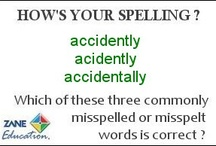 "How's Your Spelling? / Here is your opportunity to see how good your spelling skills, or those of your students really is. Each ""flashcard"" offers 3 different versions of a commonly mispelt or mispelled word. Only one is correct. Can you or your students pick which spelling is correct?"