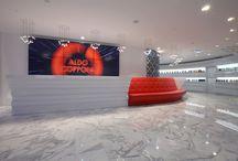 Aldo Coppola Kingdom of Beauty / For the new Aldo Coppola store in Milano, Carmenta supplied the wellness products.