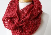 Style: Infinity Scarves / Luxurious, versatile, stylish, and chic, these are handmade knit infinity scarves and cowls.