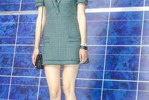 šaty - chanel kostýmovka