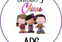 CHICOS Y CHICAS ADG