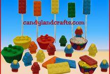 Lego Treats / Treats with a Lego theme